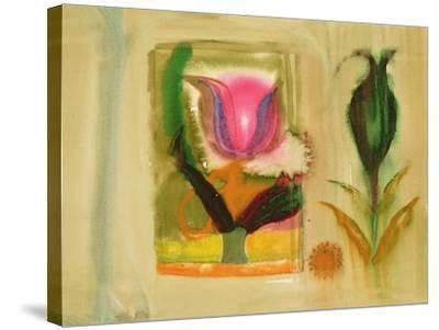 Flower Burst-Michael Chase-Stretched Canvas Print