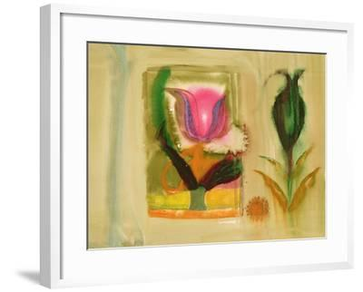 Flower Burst-Michael Chase-Framed Giclee Print