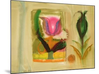 Flower Burst-Michael Chase-Mounted Giclee Print