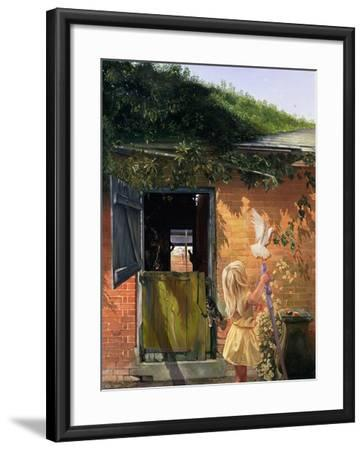 Summer Reflection-Timothy Easton-Framed Giclee Print