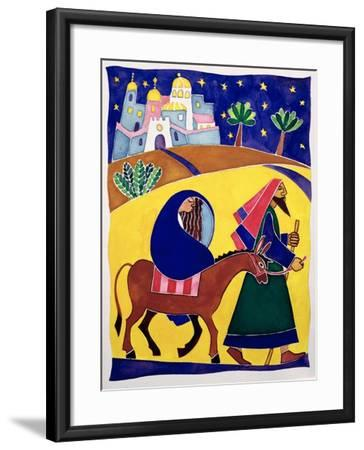 Journey to Bethlehem-Cathy Baxter-Framed Giclee Print