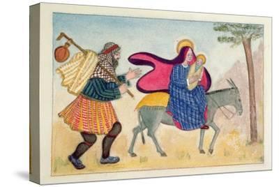 Flight into Egypt IV-Gillian Lawson-Stretched Canvas Print
