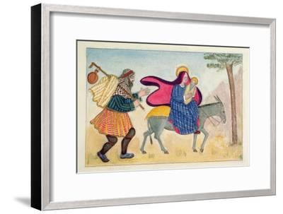 Flight into Egypt IV-Gillian Lawson-Framed Giclee Print