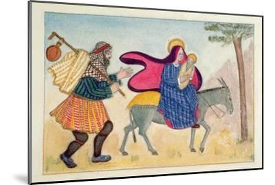 Flight into Egypt IV-Gillian Lawson-Mounted Giclee Print