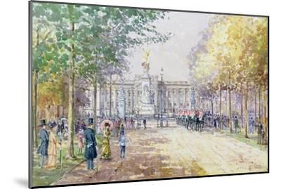 Summer in the Mall, C.1910-John Sutton-Mounted Giclee Print