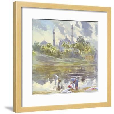 Lucknow, Uttar Pradesh, India, 1992-Tim Scott Bolton-Framed Giclee Print
