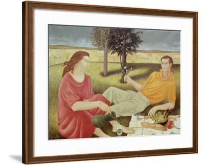 The Picnic, 1994-Patricia O'Brien-Framed Giclee Print