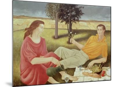 The Picnic, 1994-Patricia O'Brien-Mounted Giclee Print