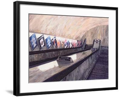 A Busker Somewhere Near, 1999-Ellen Golla-Framed Giclee Print