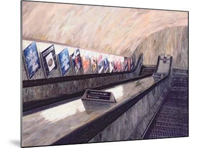 A Busker Somewhere Near, 1999-Ellen Golla-Mounted Giclee Print