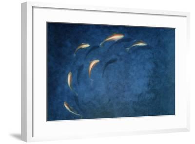 Goldfish Pool-Lincoln Seligman-Framed Giclee Print