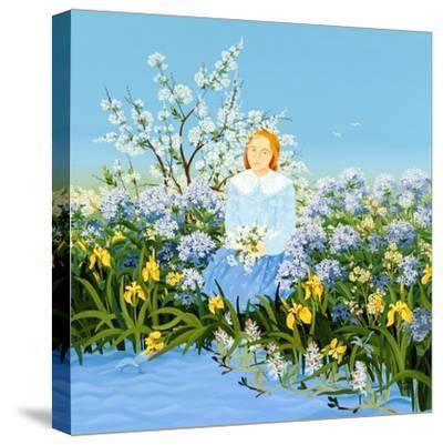 At the Shore of Dreams-Magdolna Ban-Stretched Canvas Print