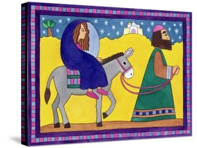 The Road to Bethlehem-Cathy Baxter-Stretched Canvas Print
