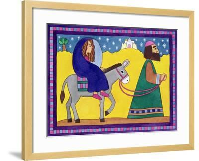 The Road to Bethlehem-Cathy Baxter-Framed Giclee Print