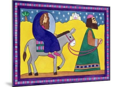 The Road to Bethlehem-Cathy Baxter-Mounted Giclee Print