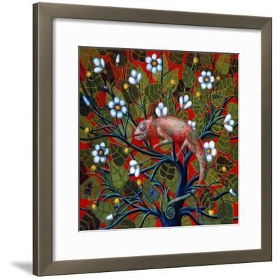 Big Chameleon, 1997-Tamas Galambos-Framed Giclee Print