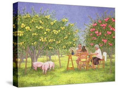 My Family and Other Animals-Ditz-Stretched Canvas Print