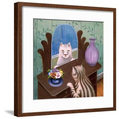 Gemini-Jerzy Marek-Framed Giclee Print