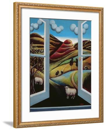 Highland View-Jerzy Marek-Framed Giclee Print