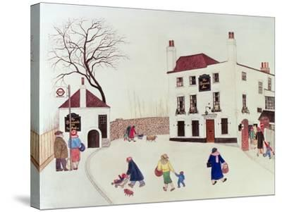 The Spaniard's Inn, Hampstead Heath-Gillian Lawson-Stretched Canvas Print