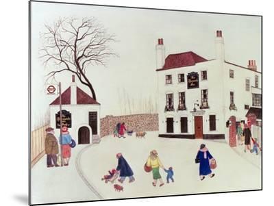 The Spaniard's Inn, Hampstead Heath-Gillian Lawson-Mounted Giclee Print