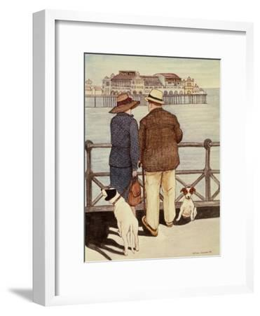 Looking Out to Sea-Gillian Lawson-Framed Giclee Print