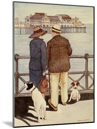 Looking Out to Sea-Gillian Lawson-Mounted Giclee Print