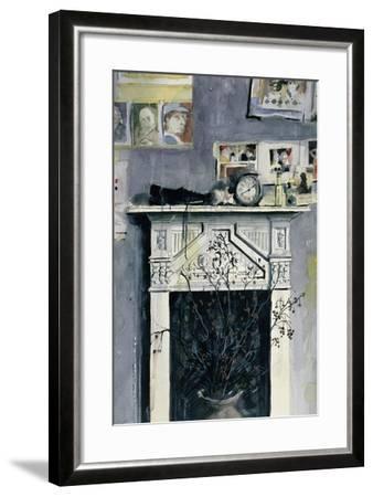 Fireplace-John Lidzey-Framed Giclee Print