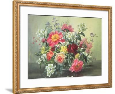 Flowers of Romantic June-Albert Williams-Framed Giclee Print