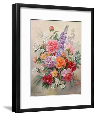 A High Summer Bouquet-Albert Williams-Framed Giclee Print