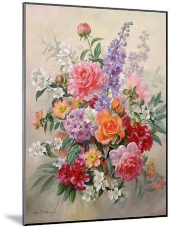 A High Summer Bouquet-Albert Williams-Mounted Giclee Print