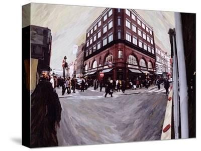 Turn Left for Neal Street, 1998-Ellen Golla-Stretched Canvas Print