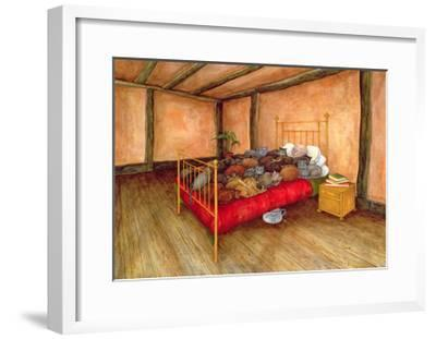 Old Mr Tombs, after George Orwell 'A Clergyman's Daughter'-Ditz-Framed Giclee Print