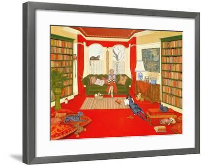 A Lazy Afternoon-Ditz-Framed Giclee Print