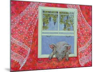 Grapes at the Window-Ditz-Mounted Giclee Print