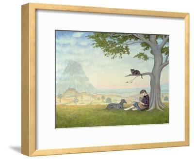 Four Friends-Ditz-Framed Giclee Print