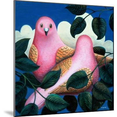 In the Pink-Jerzy Marek-Mounted Giclee Print