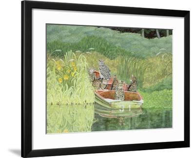 The Owl and the Pussycats-Ditz-Framed Giclee Print