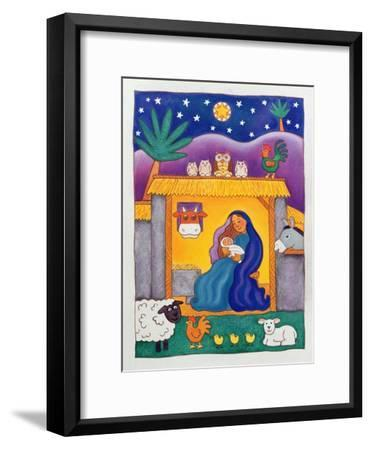 A Farmyard Nativity, 1996-Cathy Baxter-Framed Giclee Print