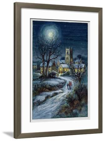 The Midnight Service-Stanley Cooke-Framed Giclee Print