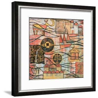 The Great Years II-Sabira Manek-Framed Giclee Print