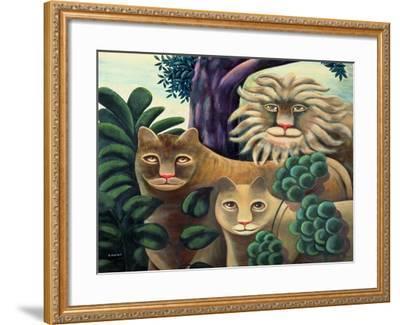 Family Portrait-Jerzy Marek-Framed Giclee Print