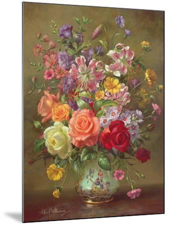 A Summer Floral Arrangement, 1996-Albert Williams-Mounted Giclee Print