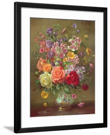 A Summer Floral Arrangement, 1996-Albert Williams-Framed Giclee Print