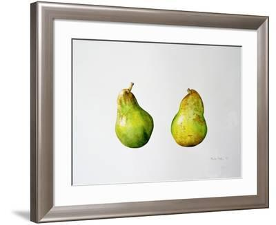 A Pair of Pears, 1997-Alison Cooper-Framed Giclee Print