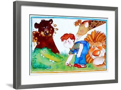 Lost Glasses-Maylee Christie-Framed Giclee Print