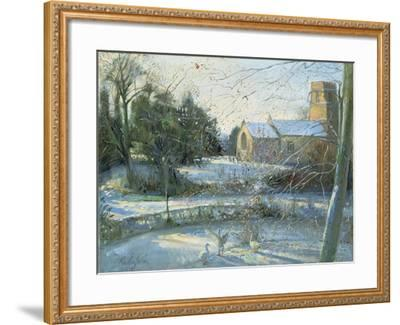 The Frozen Moat, Bedfield-Timothy Easton-Framed Giclee Print