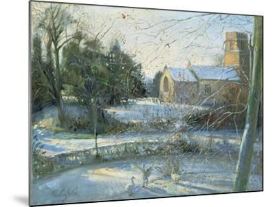 The Frozen Moat, Bedfield-Timothy Easton-Mounted Giclee Print