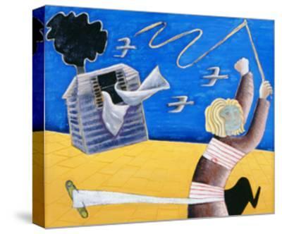A New Beginning, 1989-Celia Washington-Stretched Canvas Print