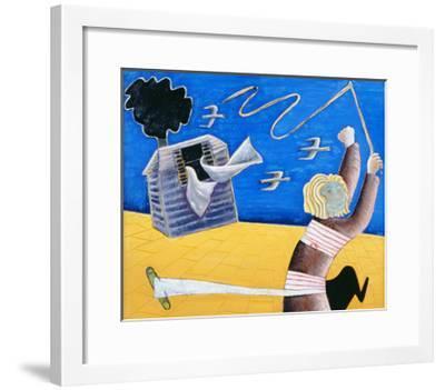 A New Beginning, 1989-Celia Washington-Framed Giclee Print